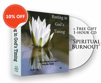 SALE: RESTING IN GODS TIMING + Free Bonus Hour 'Spiritual Burnout'