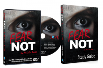 *FEAR NOT DVD + Study Guide